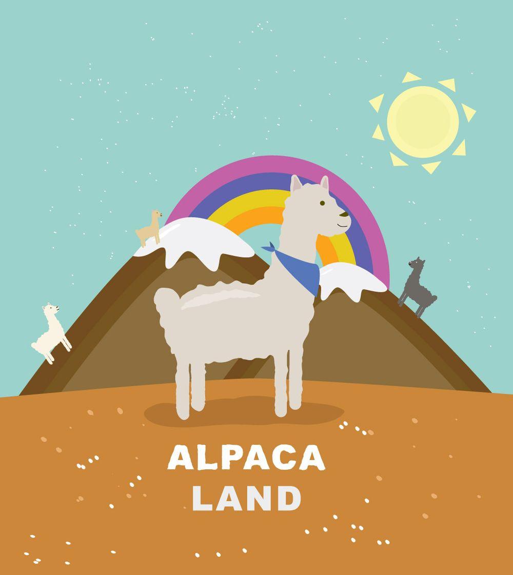 Alpaca land! - image 1 - student project