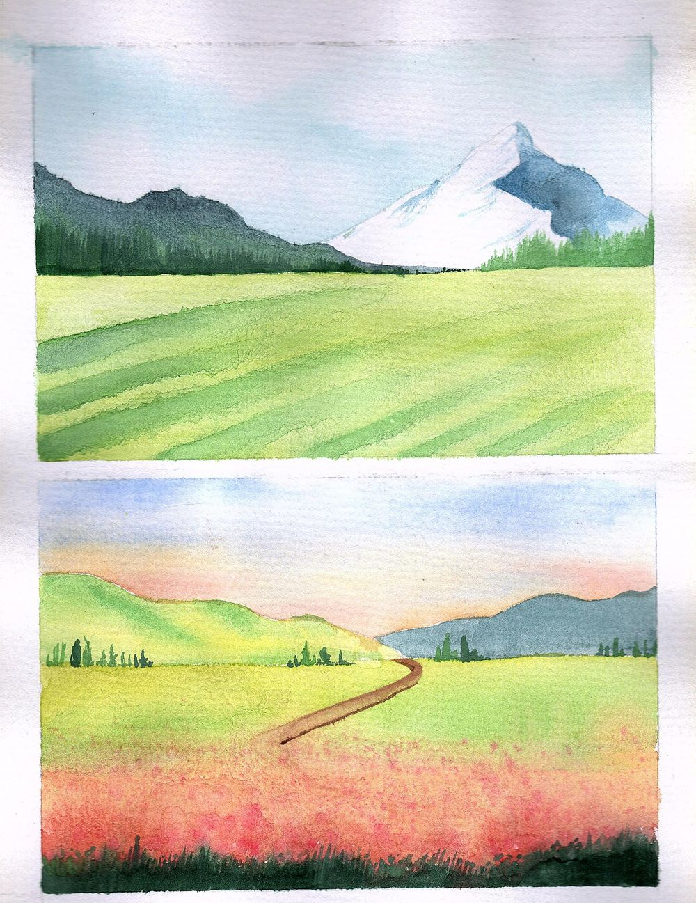 Watercolor Paintings - image 2 - student project