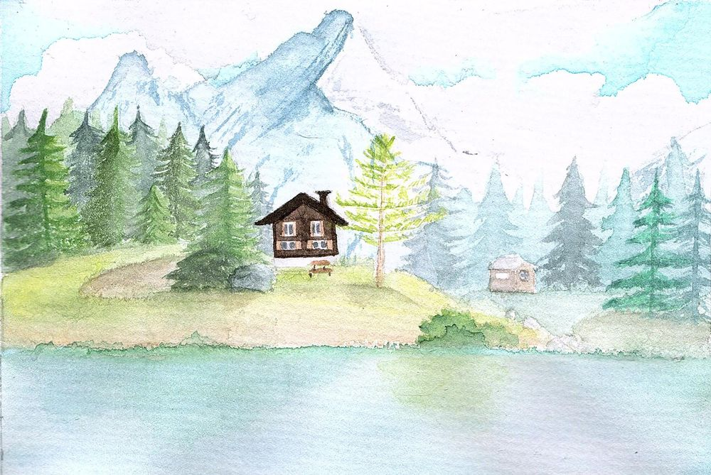 Watercolor Paintings - image 3 - student project