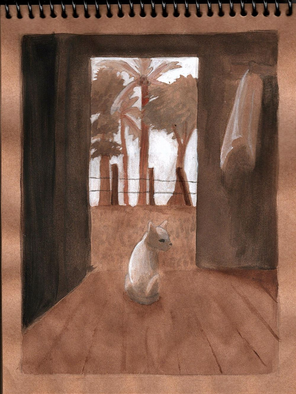 Cat Study - image 1 - student project