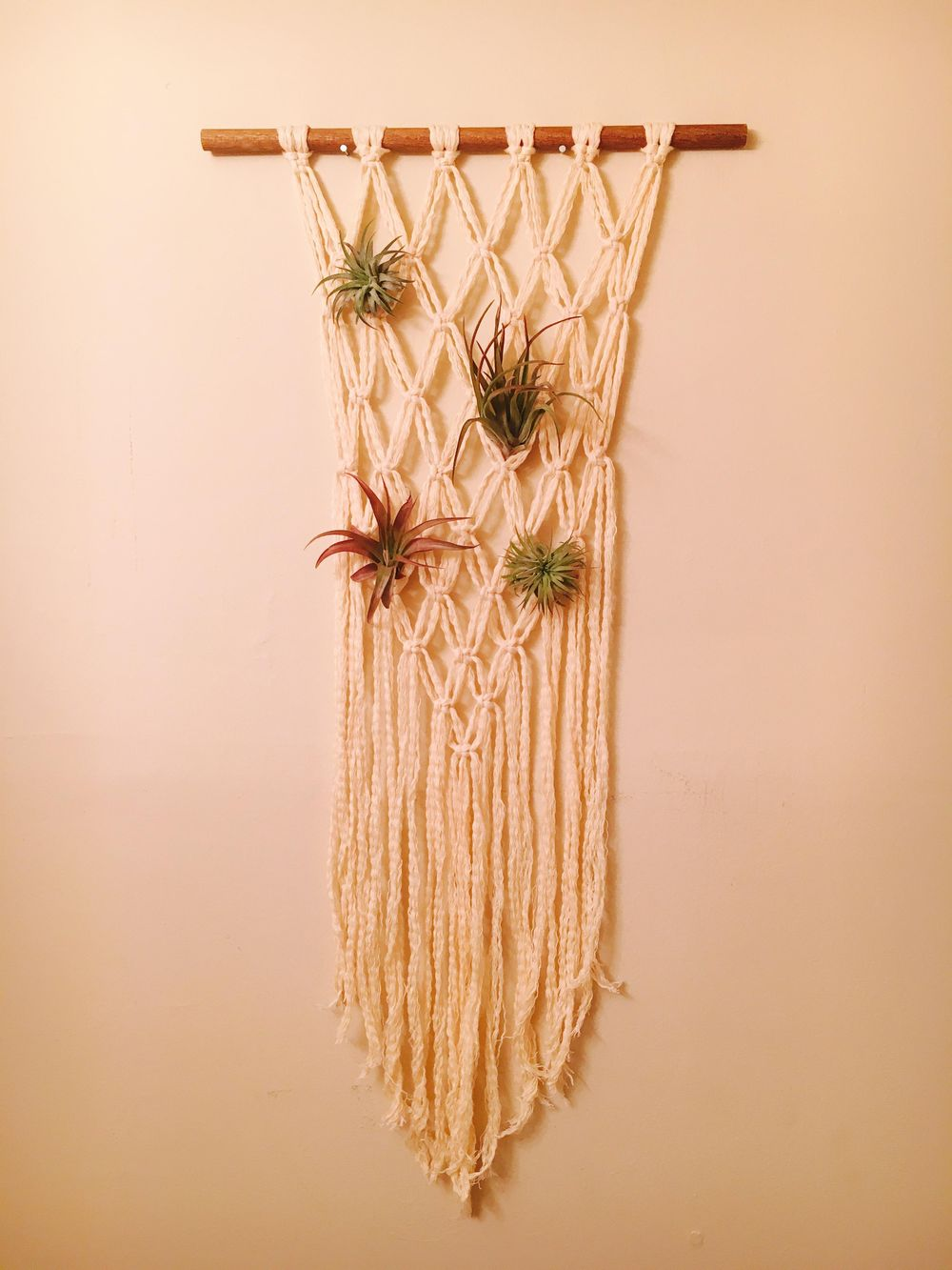 My First Macrame Wall Hanging! - image 1 - student project