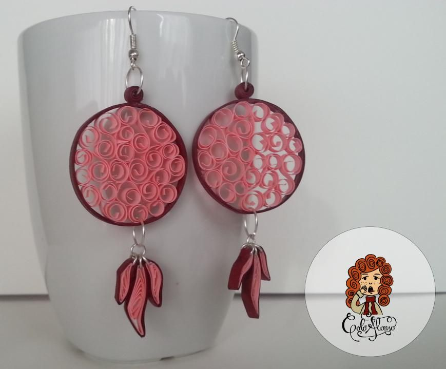 Quilling Earings! - image 1 - student project
