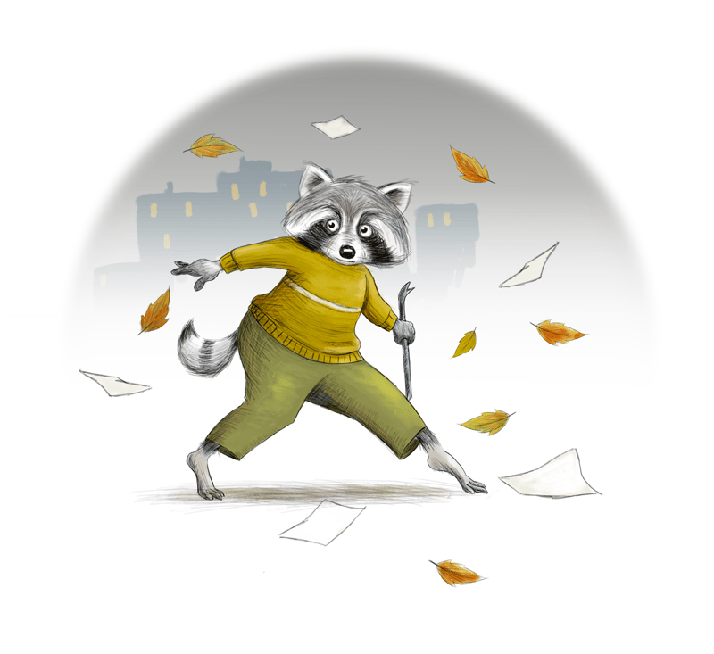 Racoon - image 7 - student project