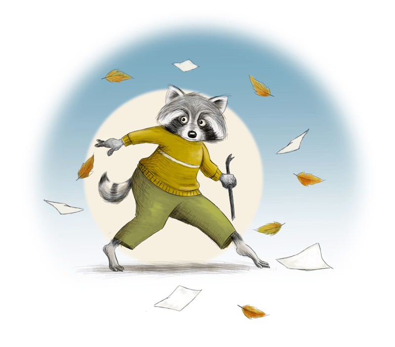 Racoon - image 5 - student project