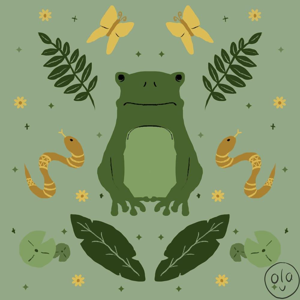 Froggo @froggograbsbrush - image 1 - student project