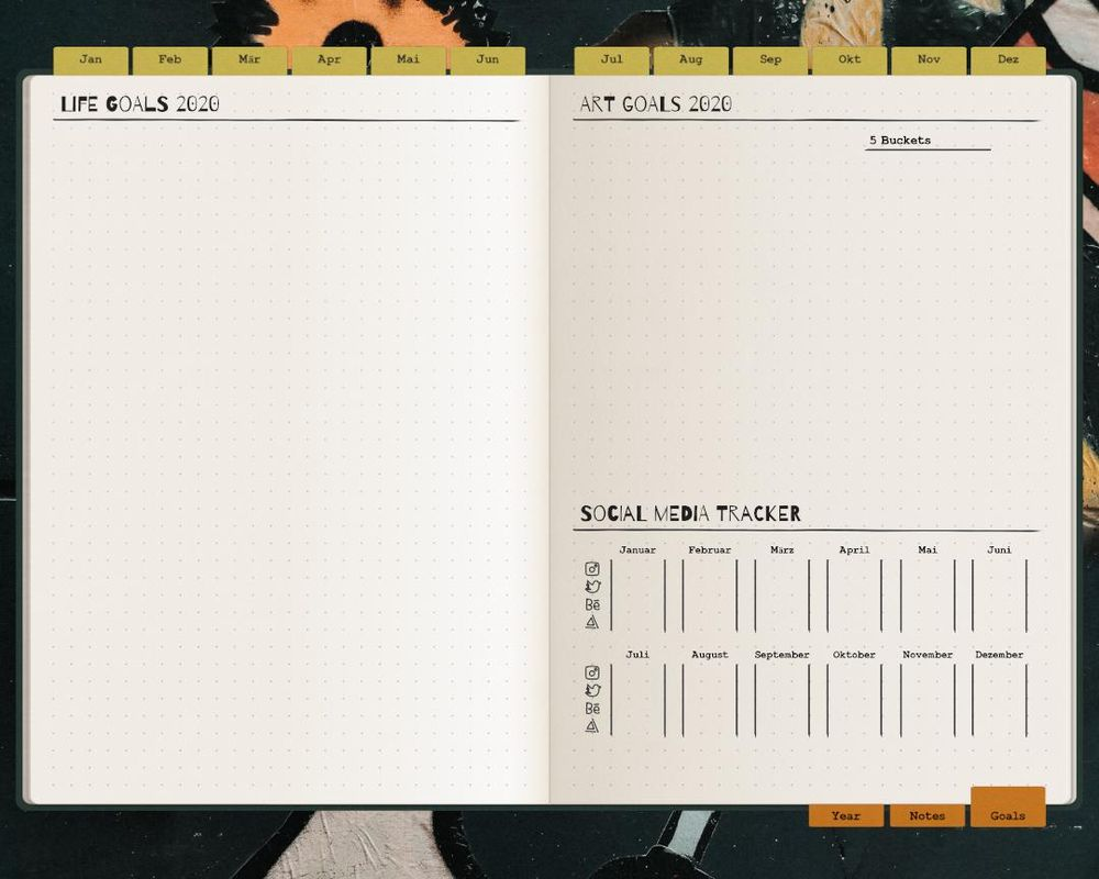 Digitizing my Bullet Journal - image 4 - student project