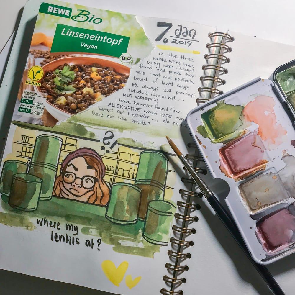 Collage Page about Lentil Soup - image 1 - student project