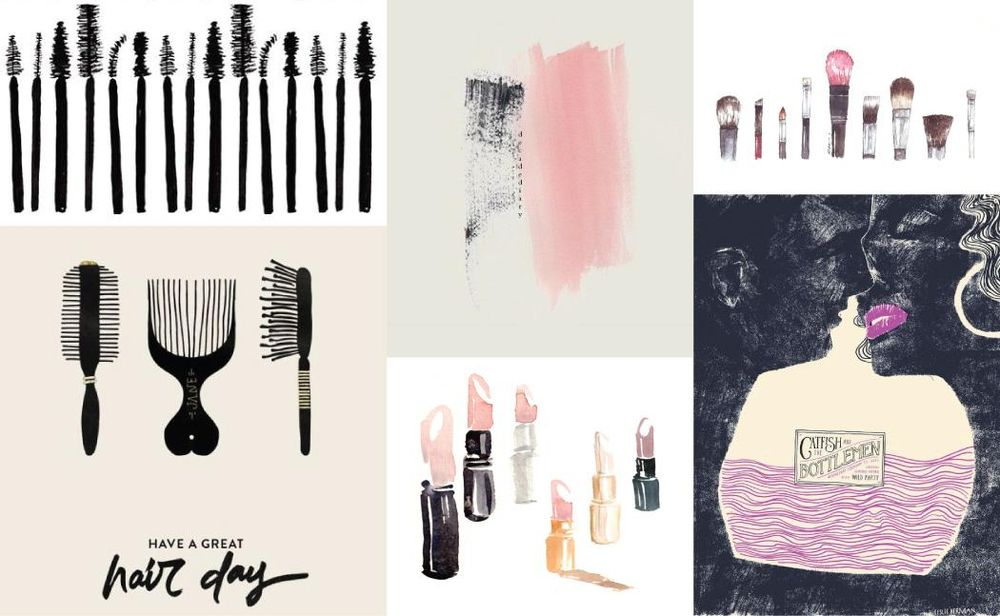 Inky Make-up Tools - image 1 - student project