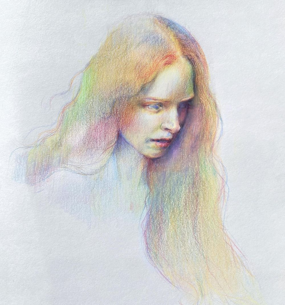 Vivid Colour Portrait - image 2 - student project