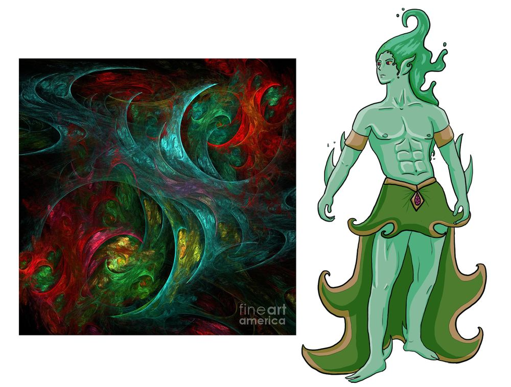 Water Elemental Guardian - image 3 - student project