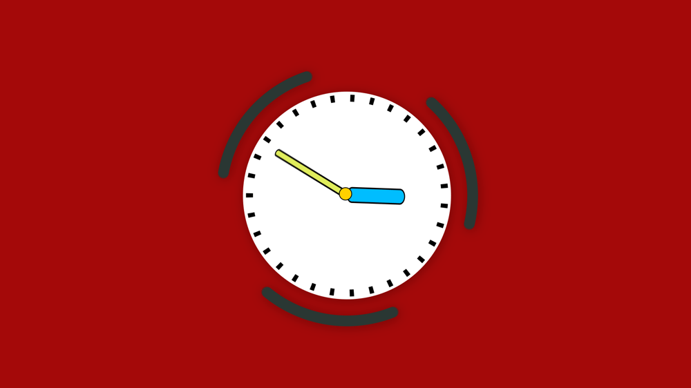 Thanks for the course here is my clock - image 1 - student project