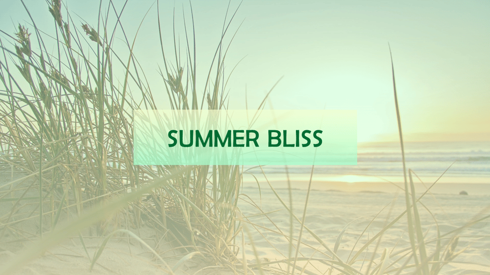 Summer Bliss - image 1 - student project