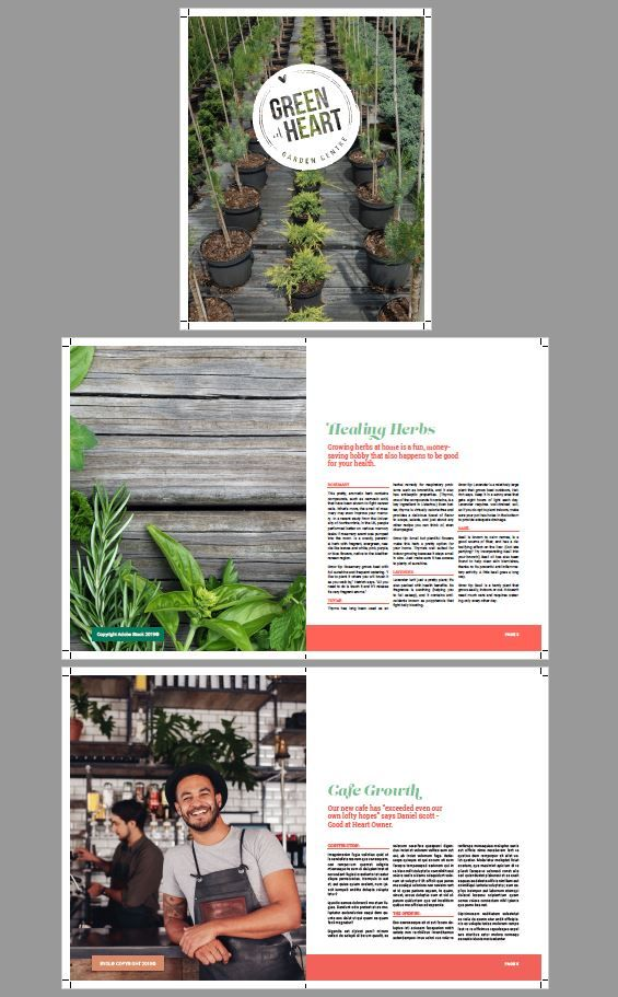 Green Gardner Flyer - image 1 - student project