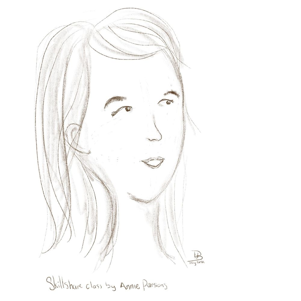 First face from Annie Parson's class - image 1 - student project
