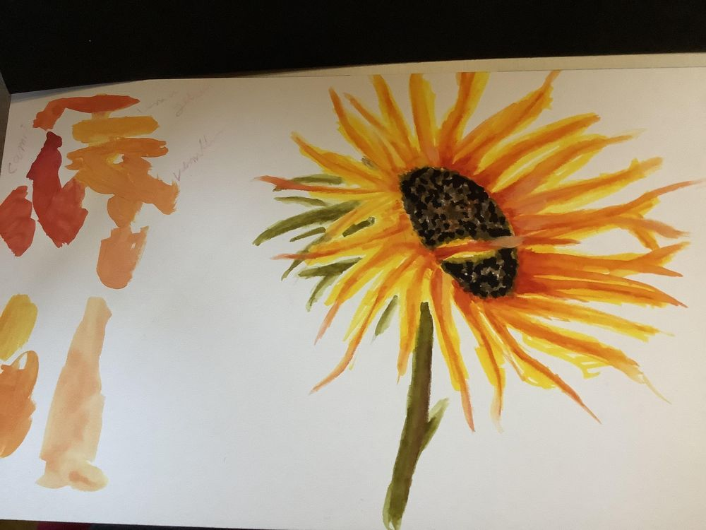 Sunflower - image 2 - student project