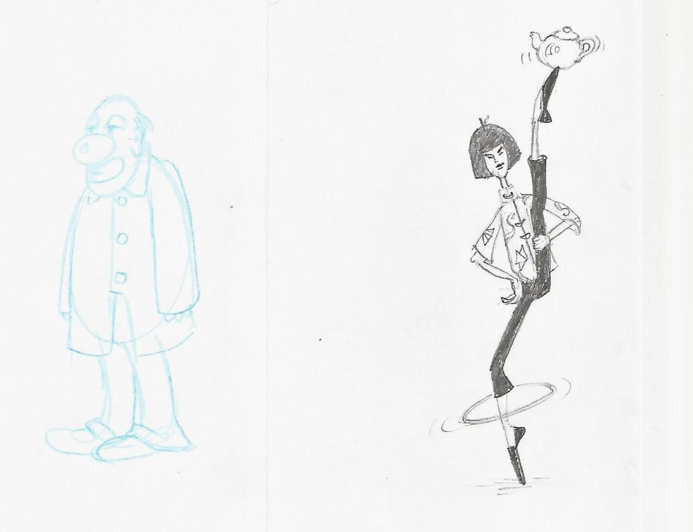 Circus character development - image 2 - student project