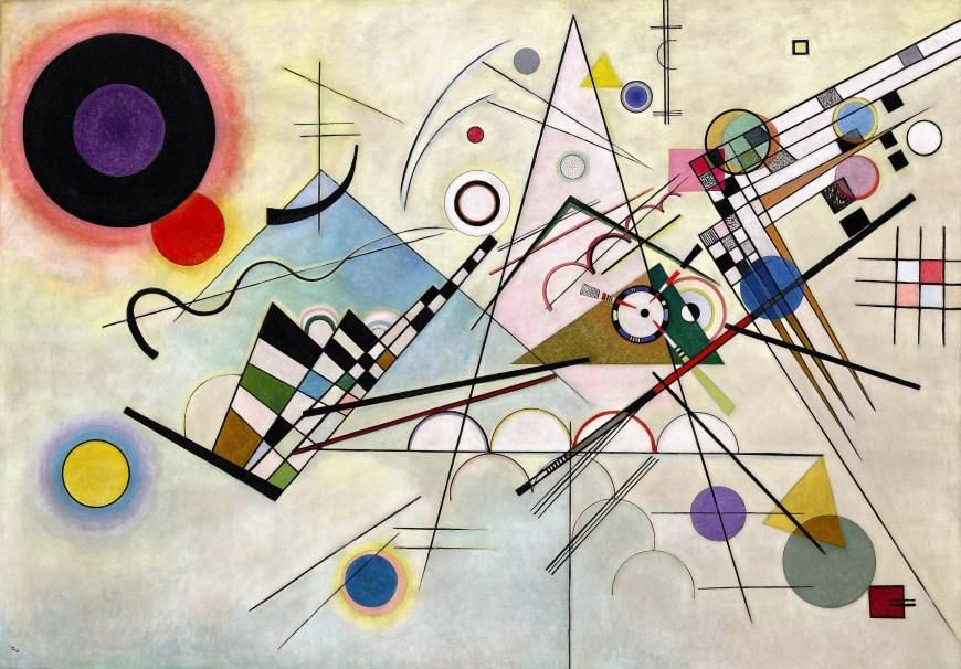 Analysis of Vasily Kandinsky's Composition 8  - image 1 - student project