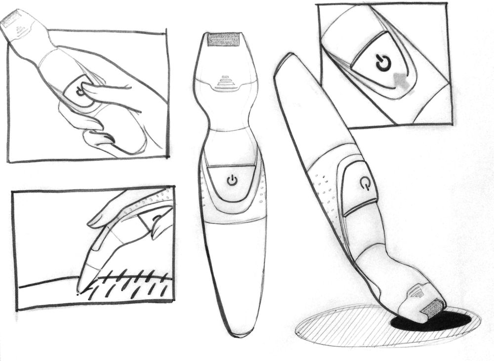 Shaving device - image 3 - student project