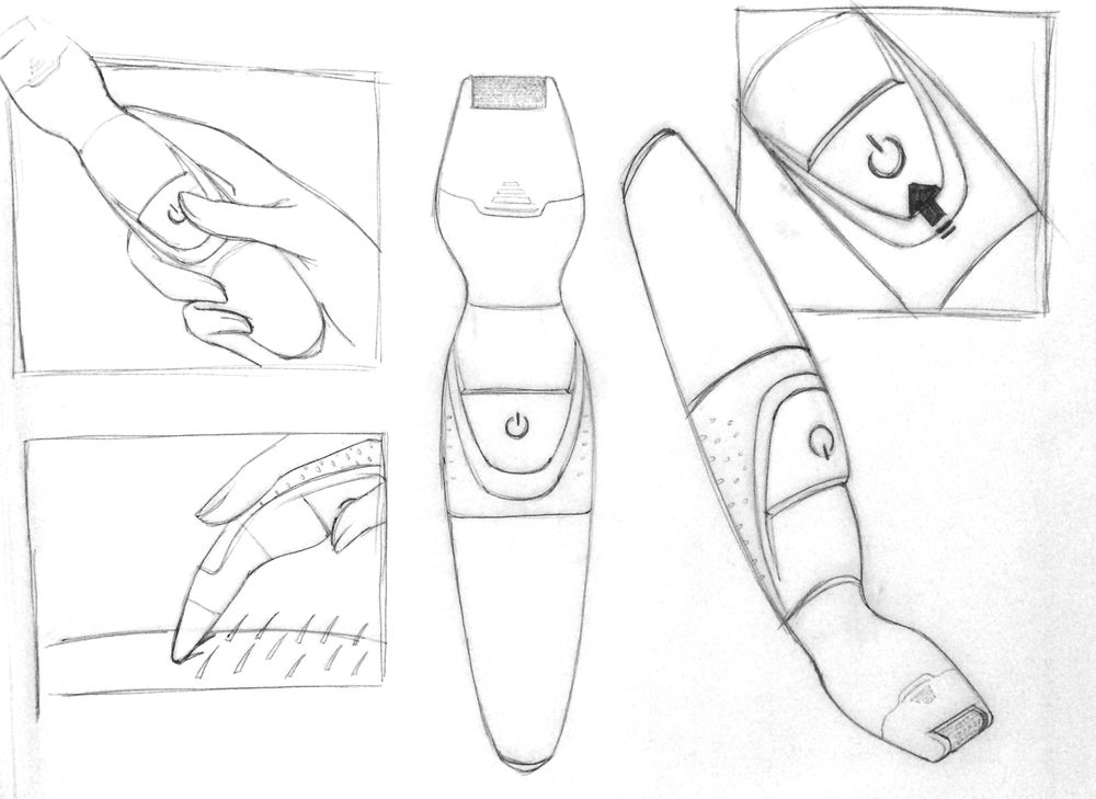 Shaving device - image 2 - student project