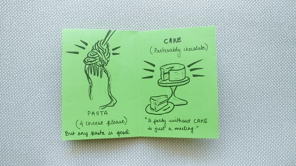 First Zine: My Favourite Comfort Food - image 3 - student project