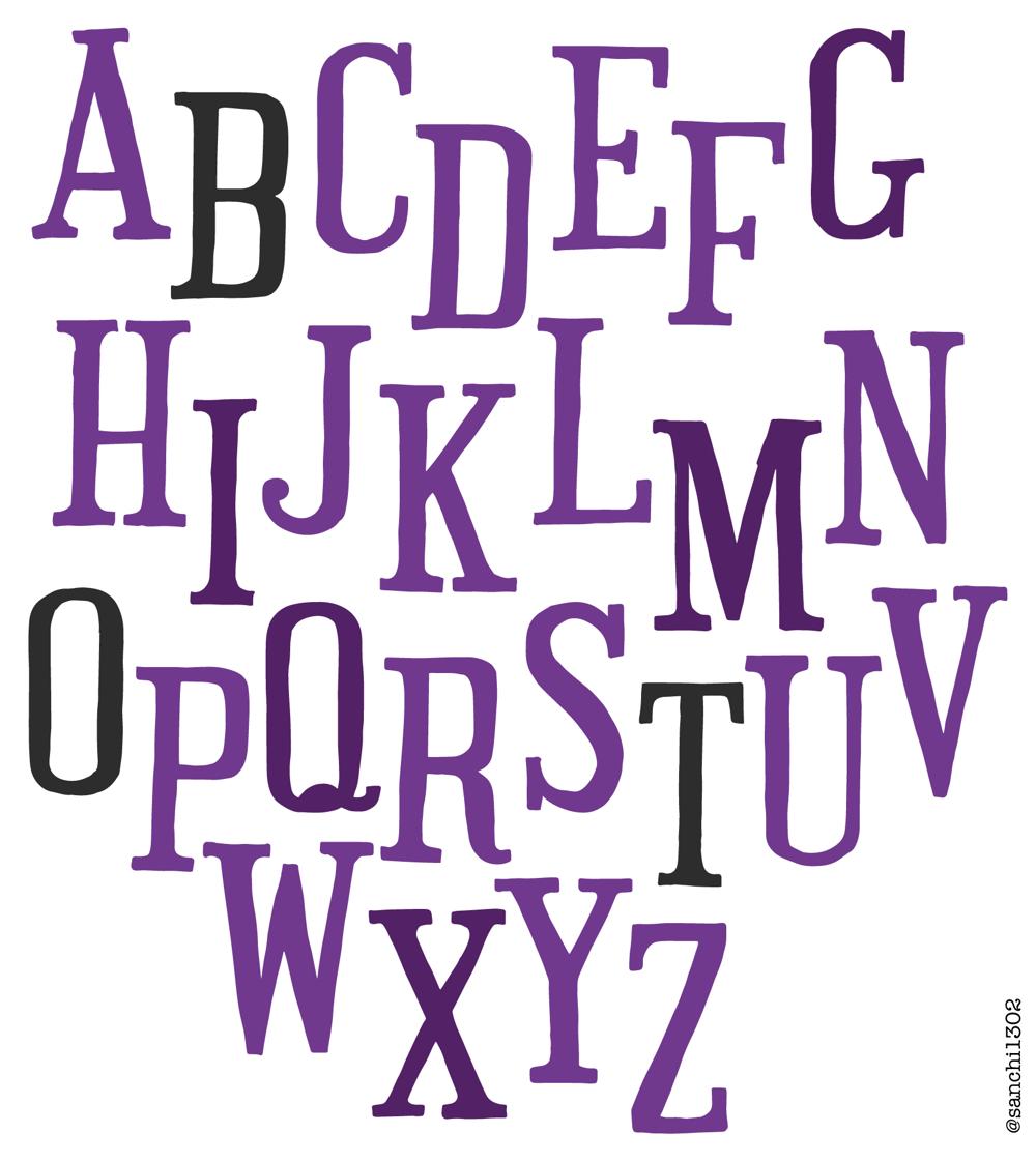 Font 2- Serif - image 1 - student project