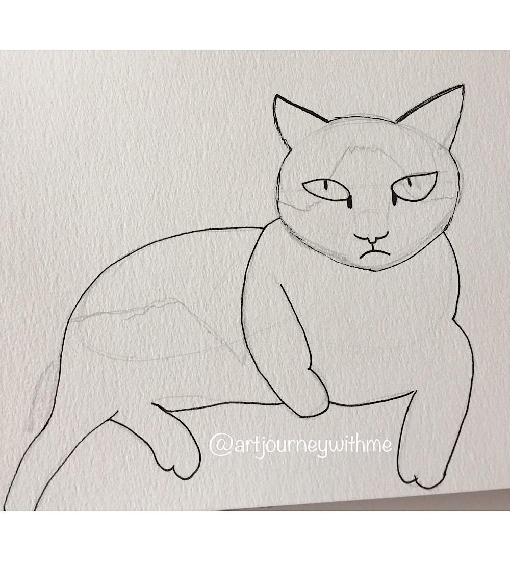 Cat on the move - image 3 - student project