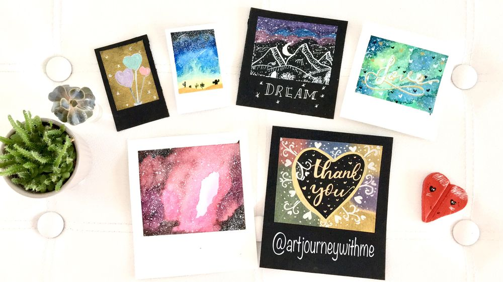Sample Project: Painting Mini Paintings Formats - image 2 - student project