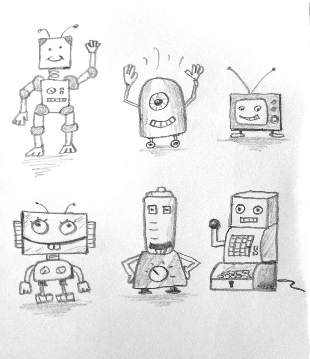 100 Robots - image 1 - student project
