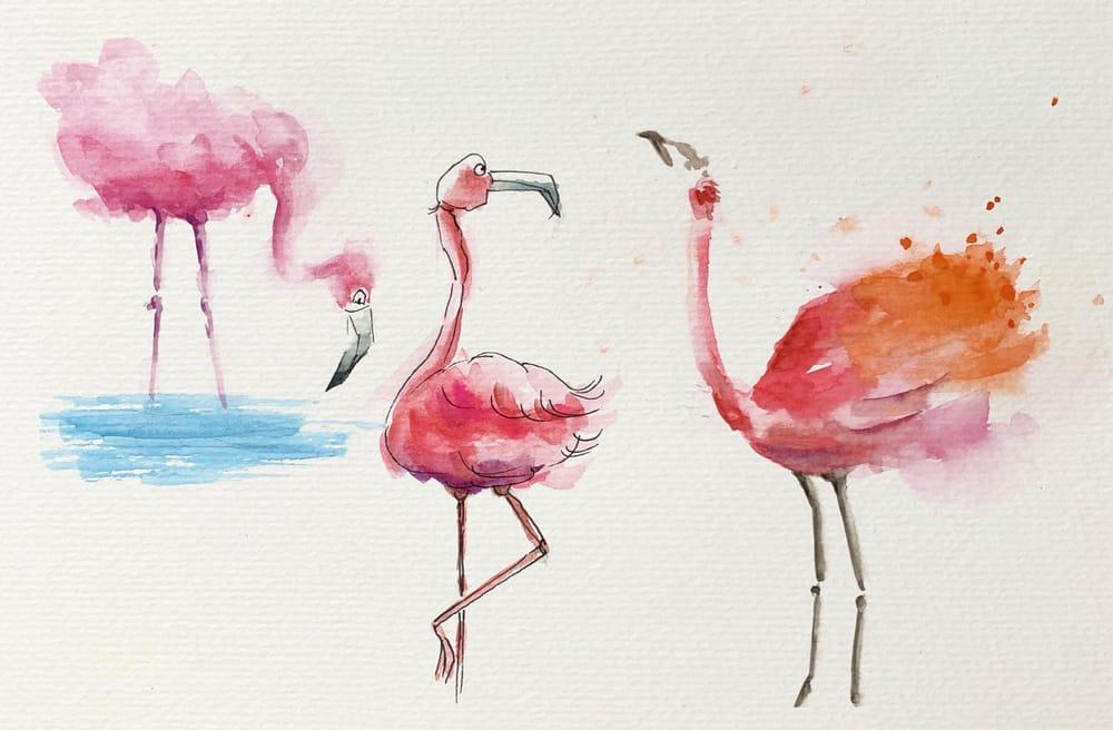 Flamingo - image 1 - student project