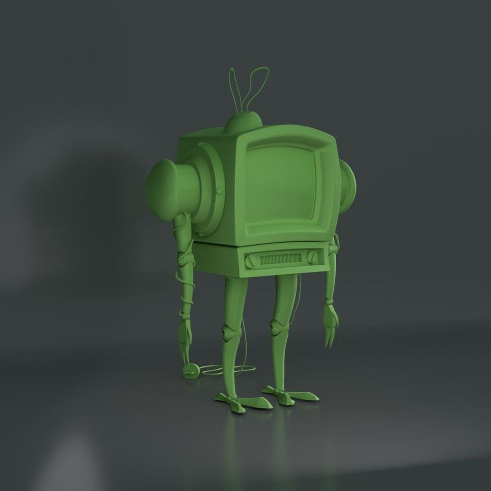 Robot_tv - image 1 - student project