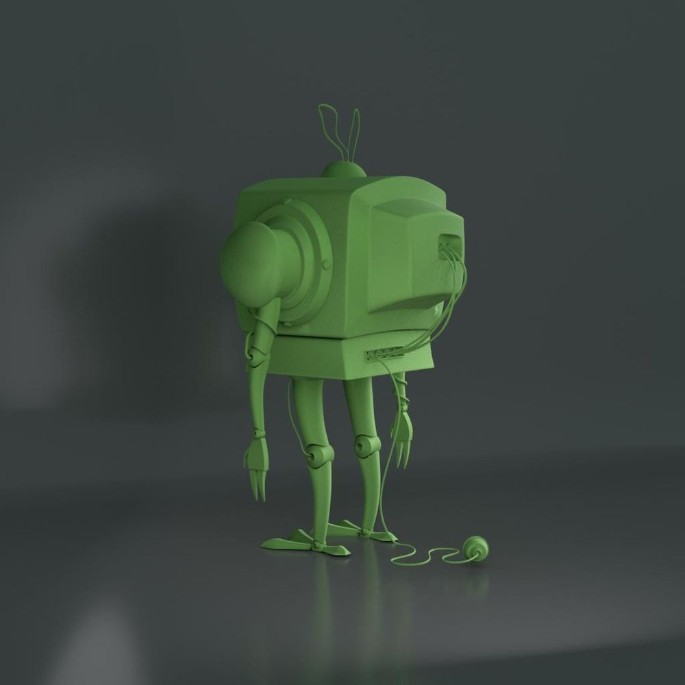 Robot_tv - image 2 - student project