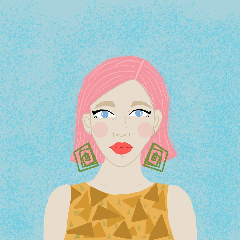Pink Hair - image 1 - student project