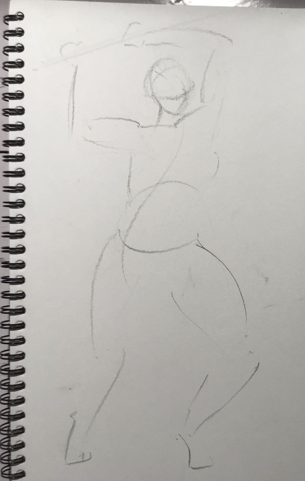Gesture drawing assignment - image 5 - student project