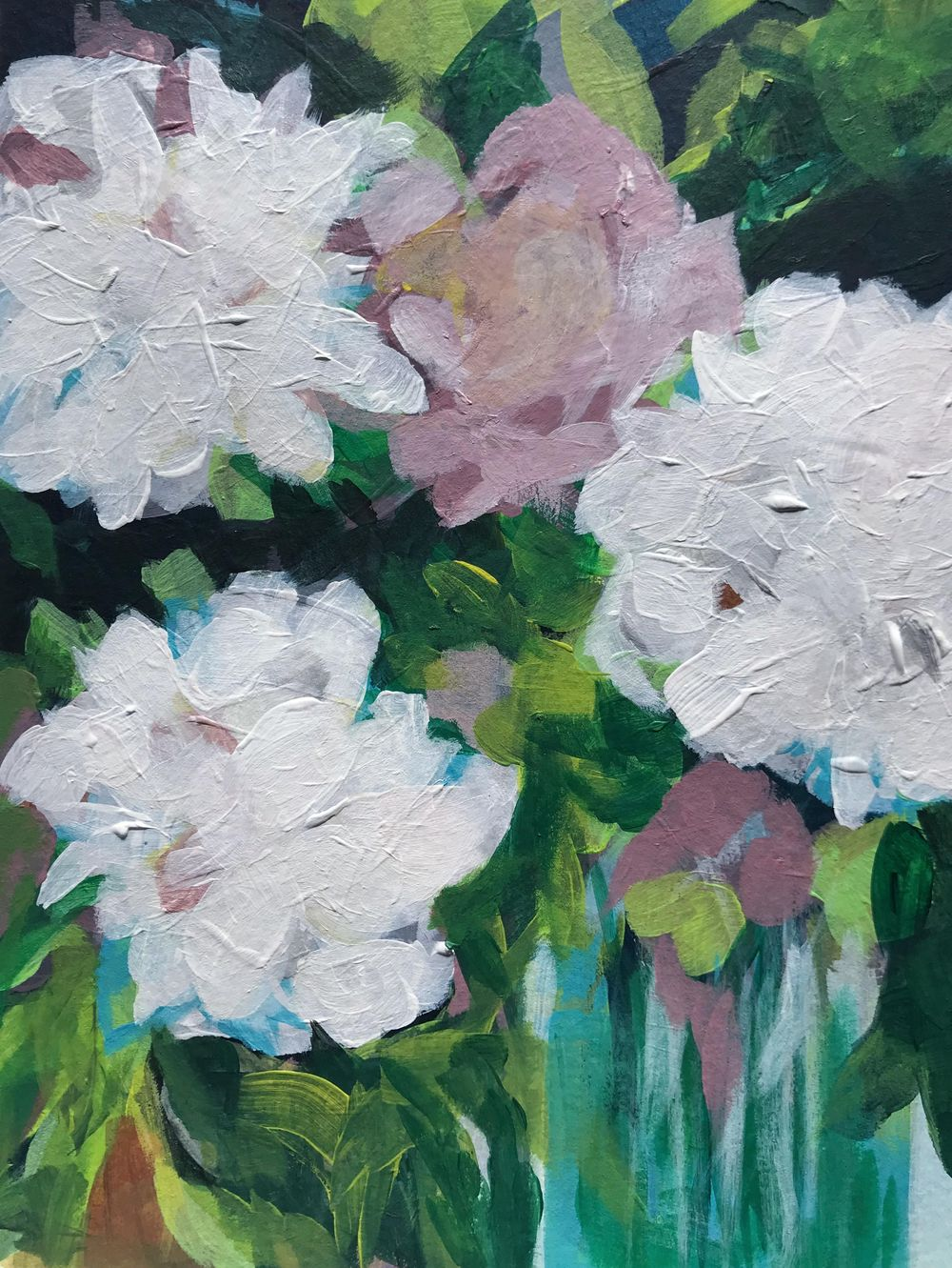 White Peonies - image 1 - student project
