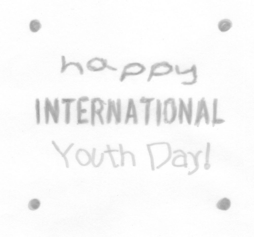 International Youth Day - image 2 - student project