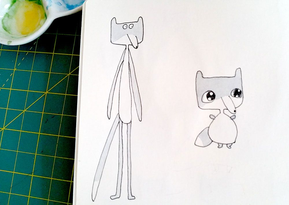 Wannabe cute wolf - image 4 - student project