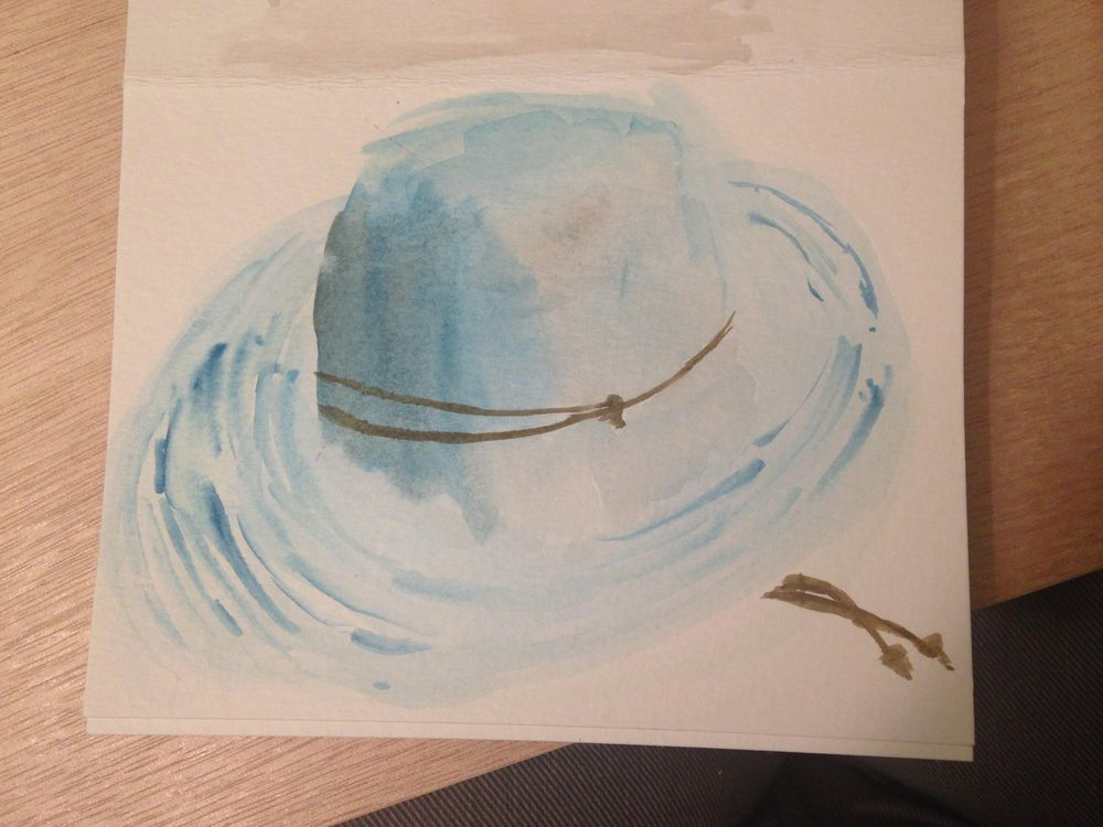 Water Color Study of the things I love most  - image 4 - student project