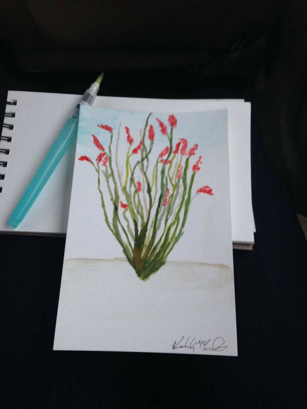 Water Color Study of the things I love most  - image 2 - student project