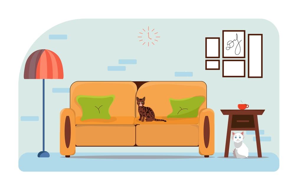 D's Flat Interior design - image 1 - student project