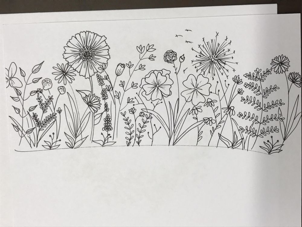 Floral Wreath and Botanical Garden - image 2 - student project