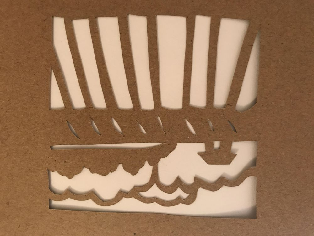 First papercut! - image 1 - student project