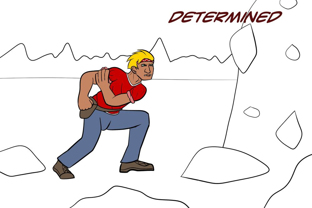 Determined - image 1 - student project