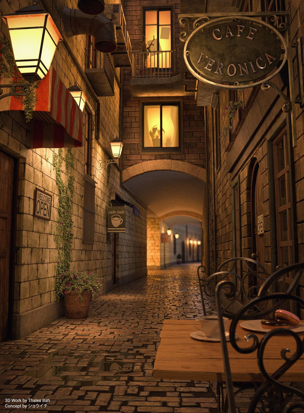 Coffee Alley - image 1 - student project