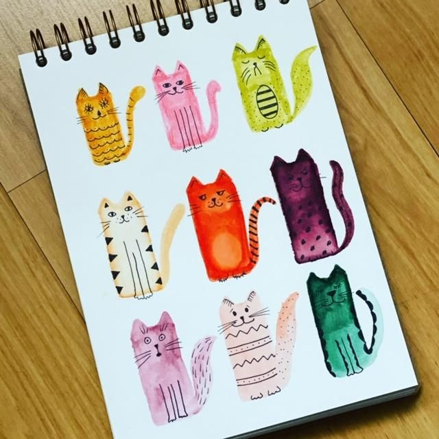 Cats Using Simple Shapes - image 1 - student project