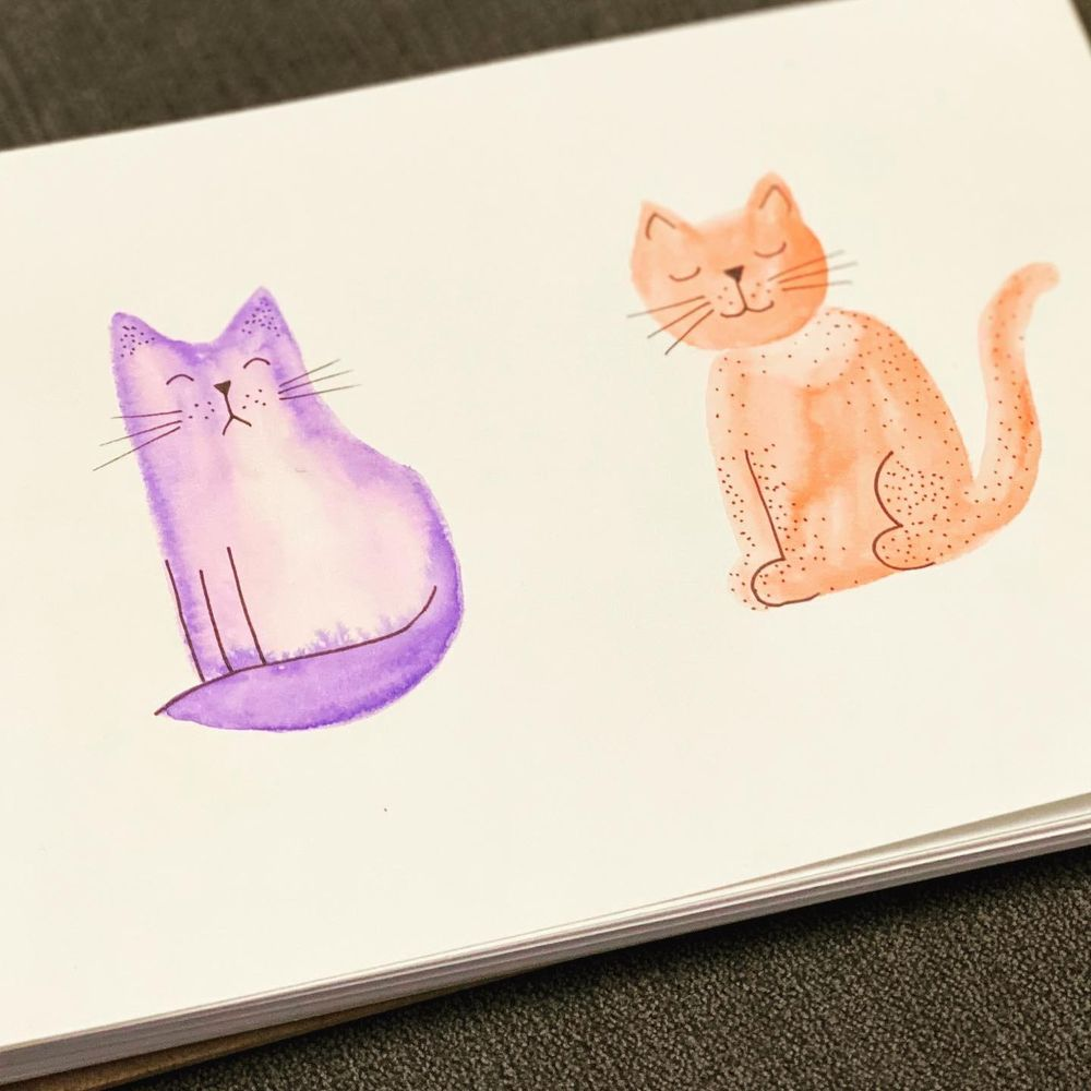Cats Using Simple Shapes - image 2 - student project