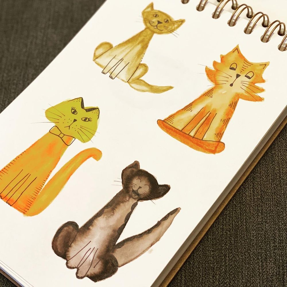 Cats Using Simple Shapes - image 3 - student project