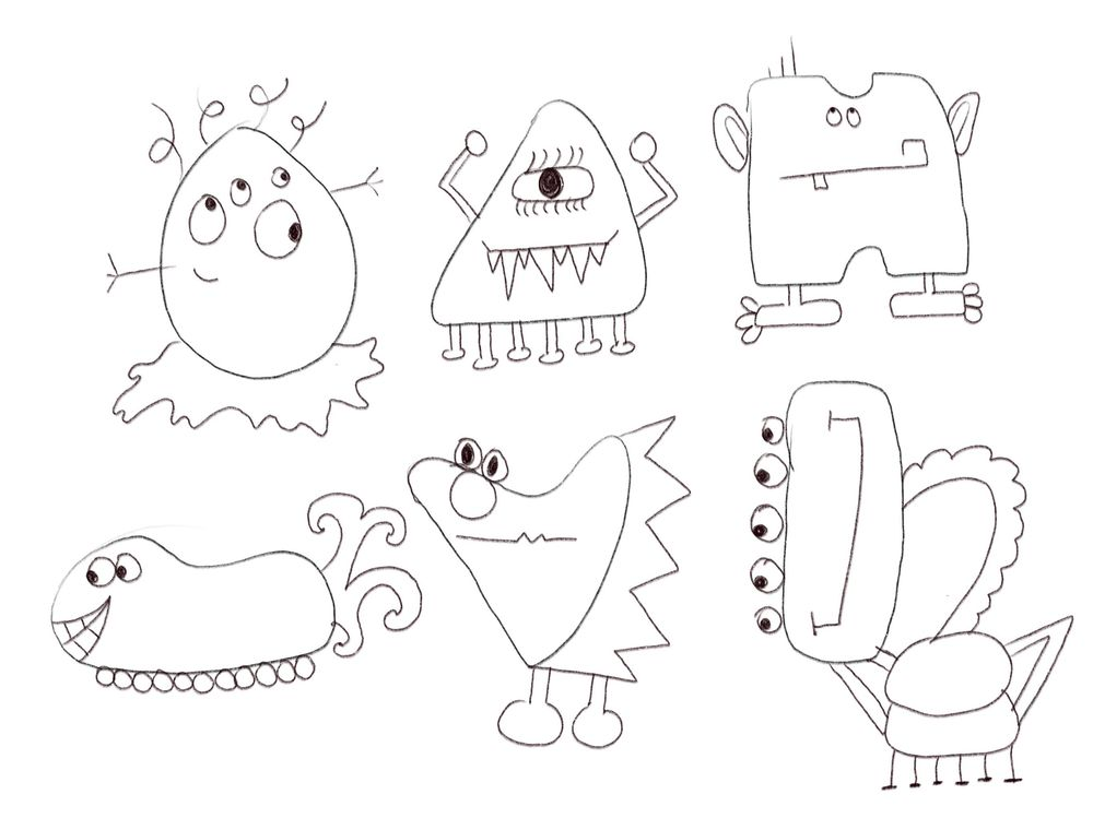 Silly Monsters - image 1 - student project