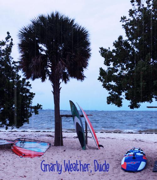 Rainy Beach Day - image 1 - student project