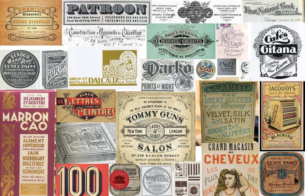 Metal Doily Press letterpress process mood board - image 1 - student project