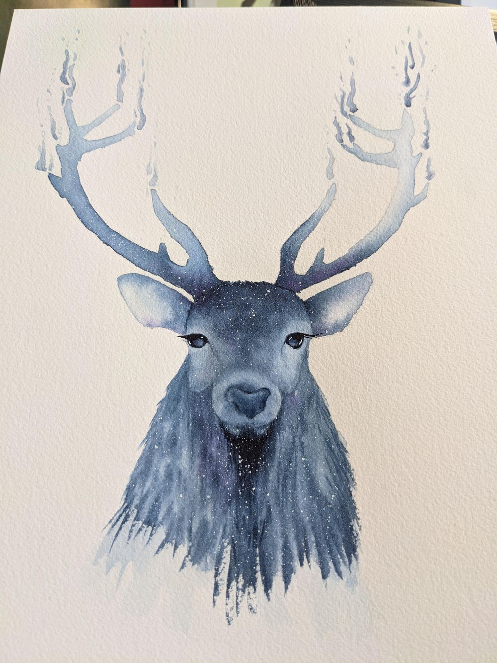 Holiday Stag - image 1 - student project